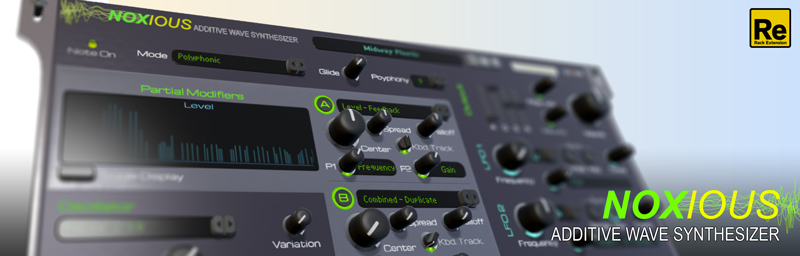 Noxious Additive Wave Synthesizer
