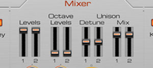 8x Unison and Octave virtual voices per oscillator.