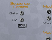 Oberon back panel with PolyCV
